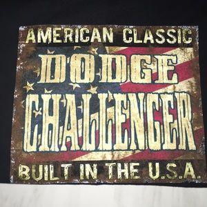 Dodge Challenger, American Classic Tee (M) NWOT